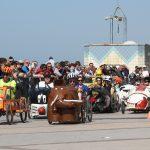 course de voitures à pédales ville de wimereux