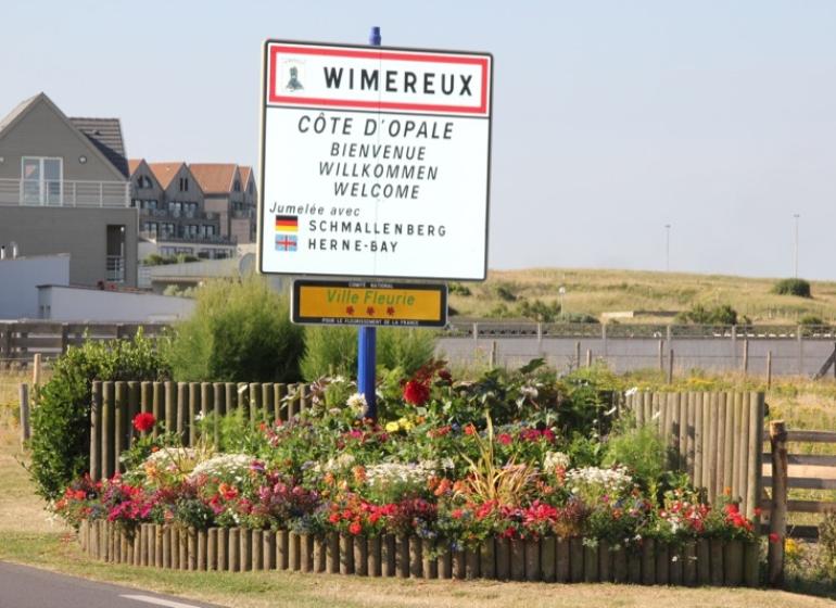 3 fleurs ville de Wimereux